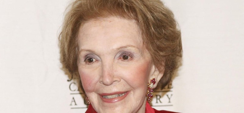 Meghalt Nancy Reagan
