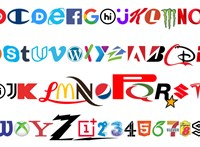 76 logóból csináltak új betűtípust – felismeri az összeset?
