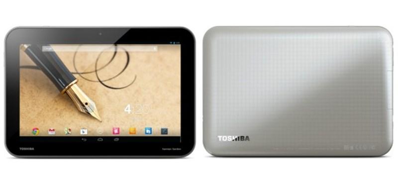 Itt vannak az új Toshiba táblagépek