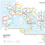 Így néz ki az ókori római úthálózat metróstílusban