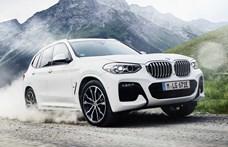 Újabb zöld rendszámos: hazánkban a 292 lóerős hibrid BMW X3