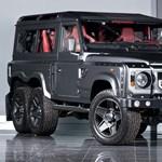 A Mercedeshez képest szinte féláron kínálják a hatkerekű Land Rover Defendert