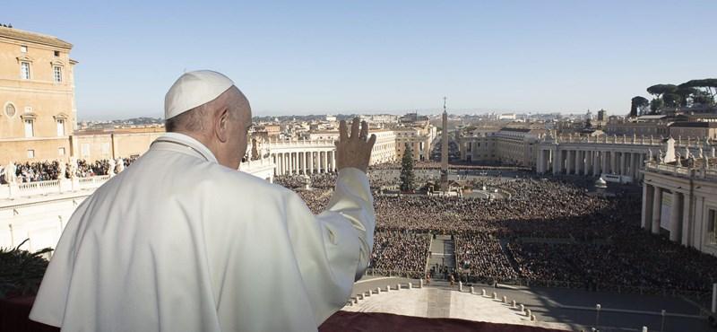 Ferenc pápa: Az egyháznak ismét be kell vetnie magát a forgatagba