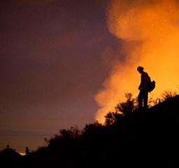 Bozóttűz: a lángok már Los Angelesig érnek - Nagyítás