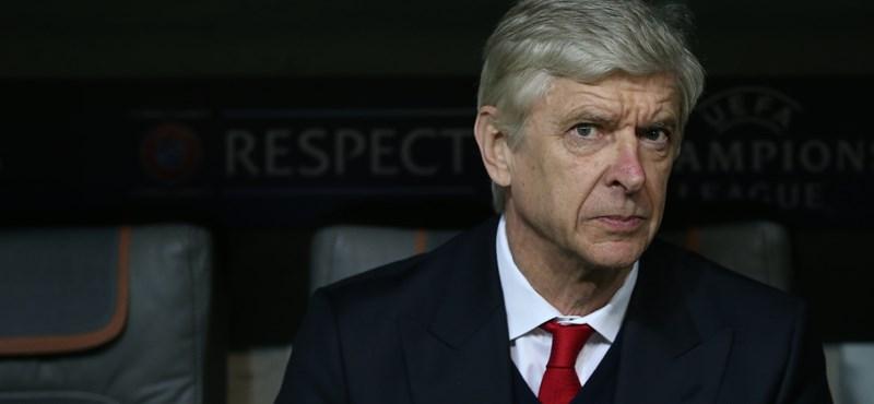 Wenger: Pályafutásom legnagyobb hibája, hogy 22 évig voltam az Arsenalnál