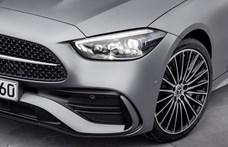 28 millió forint fölé konfigurálható a csak 4 hengeres új Mercedes C-osztály