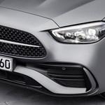 Kémfotókon a 4 hengeres motorral szerelt új Mercedes-AMG C63