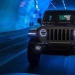 Magyarországon a zöld rendszámos új Jeep Wrangler