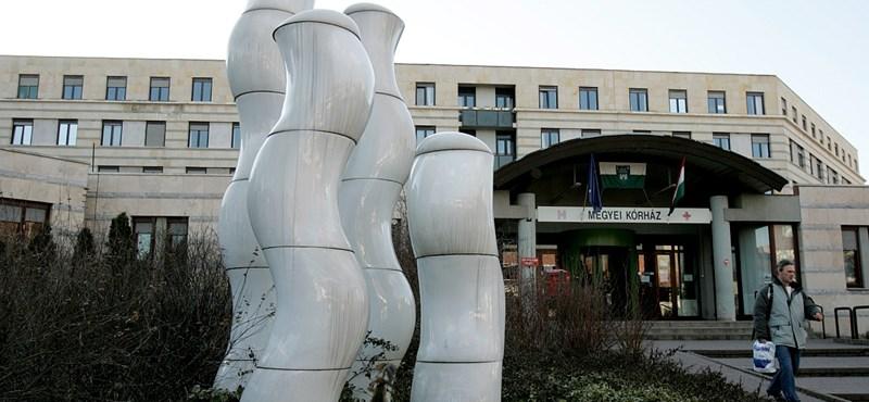Nem lesz iható víz az egyik vidéki kórházban