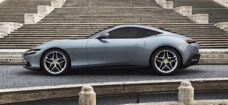 Mindenkit meglepett a Ferrari újdonsága, a Roma