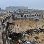 Aleppo - elakadt a kimenekítés