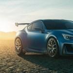 Egy új középmotoros hibrid sportkocsin ügyködik a Subaru?