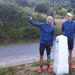 Hét nap alatt lenyomott 1100 kilométert három magyar futó