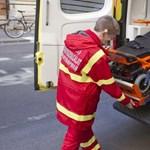 Biciklis talált rá egy árokban fekvő súlyos sérült motorosra