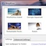 Bing háttérképek az Asztalon, automatikusan