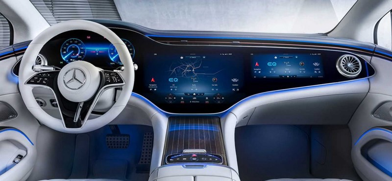 Tesla's room looks old when you look at Mercedes' new dashboard