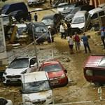 Brutális árvíz pusztított Spanyolországban