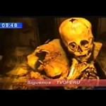 Videó: átverés a perui ufókoponya?
