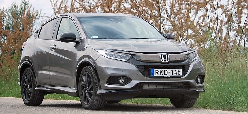 Honda HR-V Sport teszt: nocsak, egy élvezetes SUV?