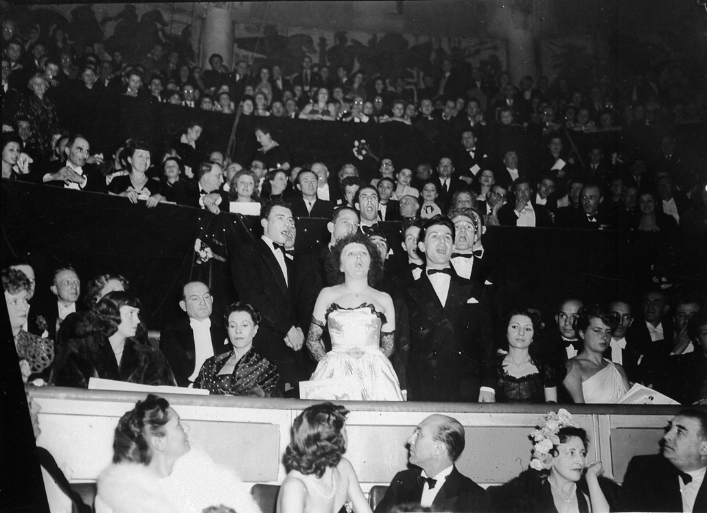 1948. - Edith Piaf az Európai Unió gálaestjén - Edith Piaf