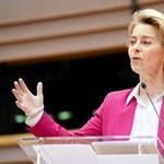 Merkelnek is odamondott finoman Ursula von der Leyen évértékelő beszédében