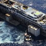 Nem semmisítik meg a Costa Concordia roncsait