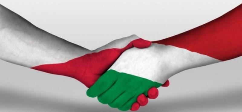 Csak a lengyel gazdaság tudott ráverni a magyarra