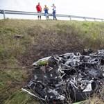 Semmi sem maradt a Lamborghiniből az M7-esen száguldás után - nem csukták le a sofőrt