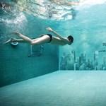 Már az uszodában sem menekülünk: itt a vízalatti reklám