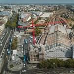 Eltűnt a Nyugati pályaudvarról az üvegtető