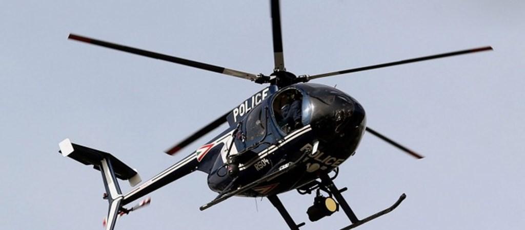 Drónnal és helikopterrel is razziáznak már a magyar rendőrök