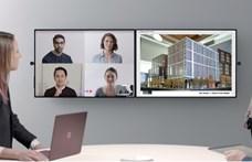 Videó: Végre itt a Microsoft új digitális táblája, és jött belőle egy még nagyobb is