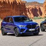 Itt az új BMW X5 M és X6 M: 625 lóerő elég lesz?