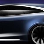 Megvillantották a nagyon menő Tesla kombit, mutatjuk