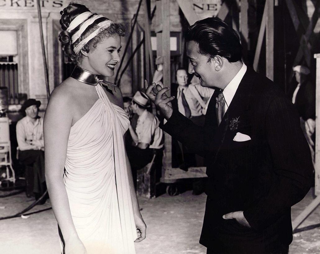 afp. nagyítás - Salvador Dali 110 éve született - Bergman, Ingrid / Spellbound (1945) Alfred Hitchcock