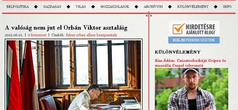 VV: ez az Orbán-kormány pechje