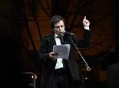A színházi tüntetés legjobb beszédét Pintér Béla mondta - videó