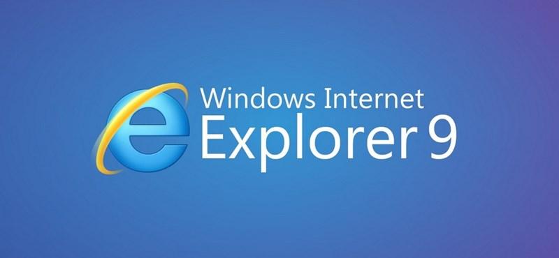 Internet Explorer 9: akkor is jó, ha nem értünk hozzá?