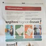 Határon túli szavazóknak ígér segítséget egy titokzatos újsághirdetés