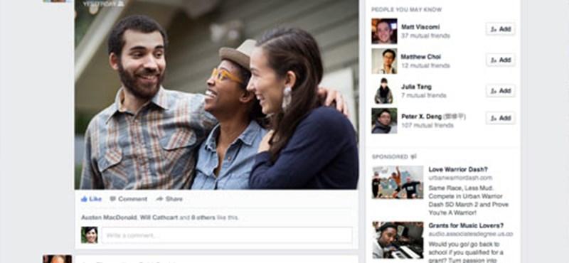 Hivatalos: itt a teljesen megújuló Facebook
