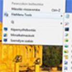 A legjobb ingyenes programok a Windows helyi menüjének tuningolásához
