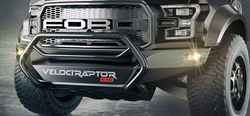 Szanaszét tuningolja a Hennessey a Ford Raptort, de totál megérte