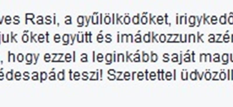 """""""Úgy, ahogy édesapád teszi!"""" – Orbán Ráhelnek üzent egy közmédiás"""
