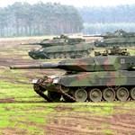 Merkel erősítené a német hadsereget