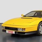 32 éves, de csak 31 ezer kilométert futott Ferrari Testarossát kínálnak eladásra