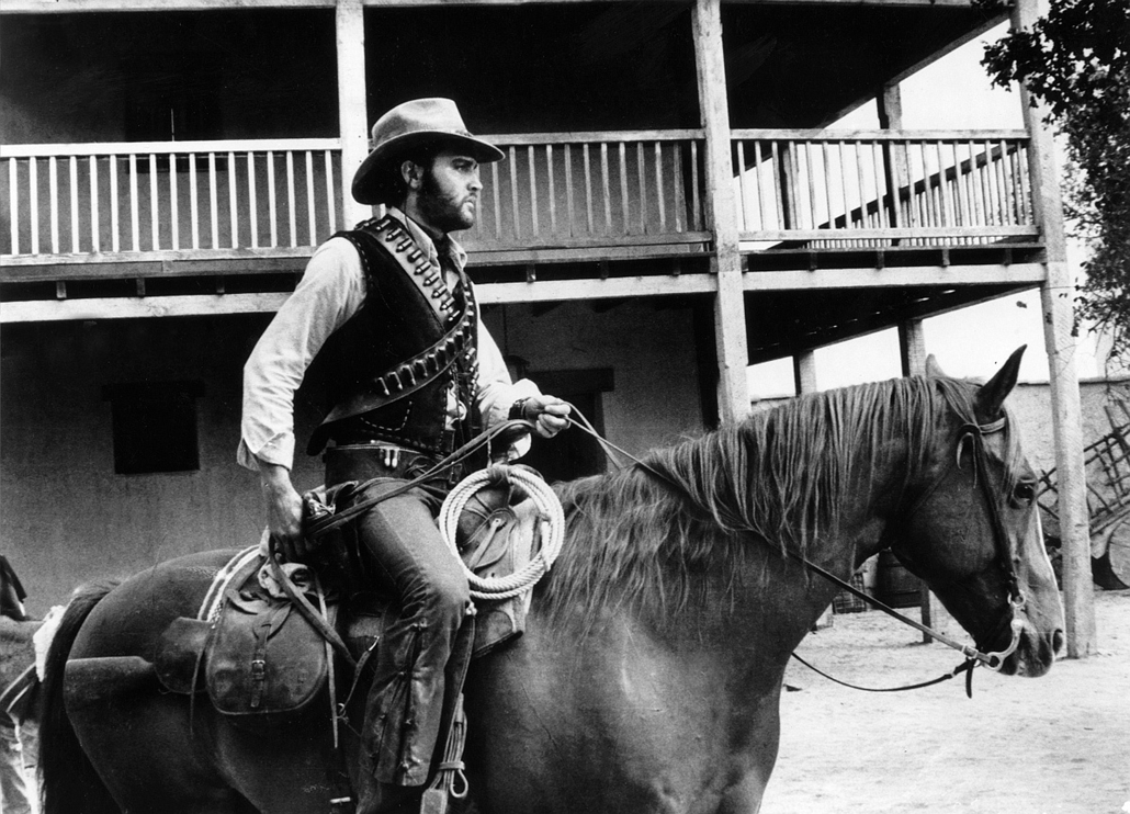 afp. Elvis Presley 80 nagyítás - Charro! (1969) Dir: Charles Marquis Warren, Editorial use only related to cinema, television and personalities. Not for cover use, advertising or fictional works without specific prior agreement
