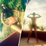 Catherine Zeta-Jones saját bikinis fotókkal vágott vissza a paparazzóknak