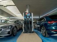 Még nem Tesla Supercharger, de elég gyors töltőt adott át a Mol