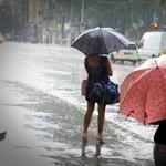 A fél országban fog szakadni az eső délután