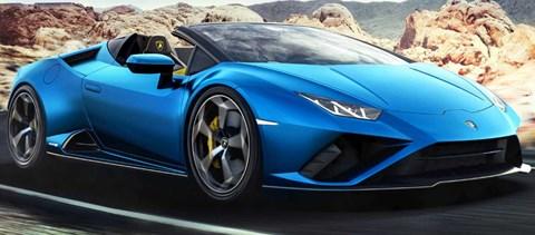 Csak hátul hajt a nyitható tetejű új Lamborghini sportkocsi